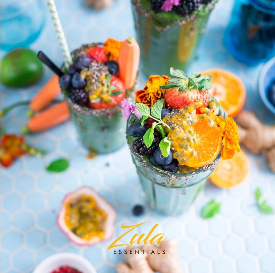 Tropical Superfood CBD infused Smoothie