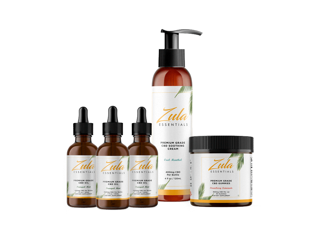 Why our the Zula Essentials CBD Bundle is the Ultimate Wellness Kit